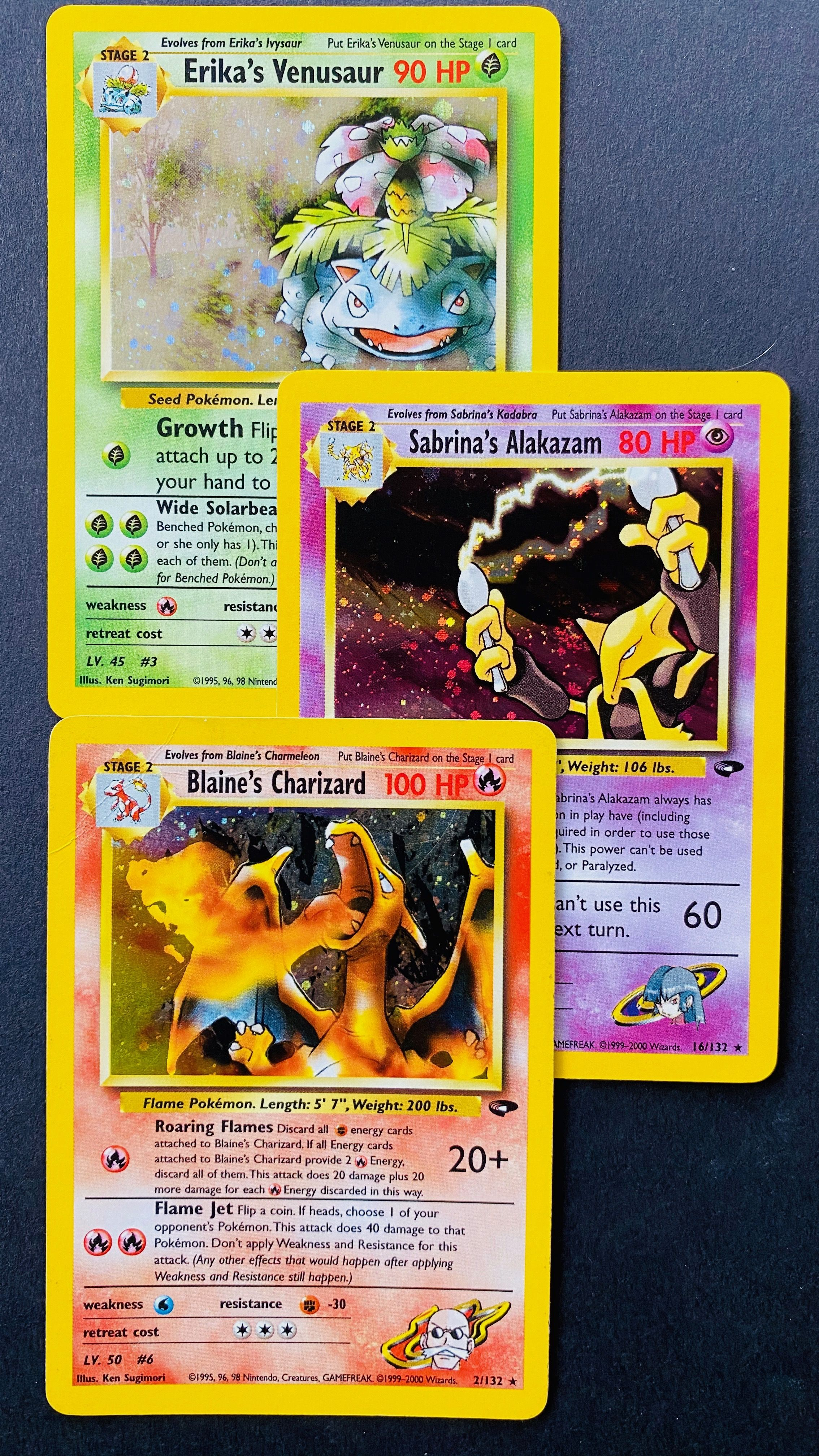 Buy all the rarest wizard gym challenge pokemon cards at
