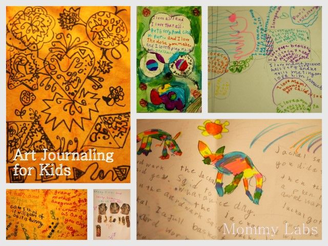 Thanksgiving Art Journal with Kids for Tradition & Memories