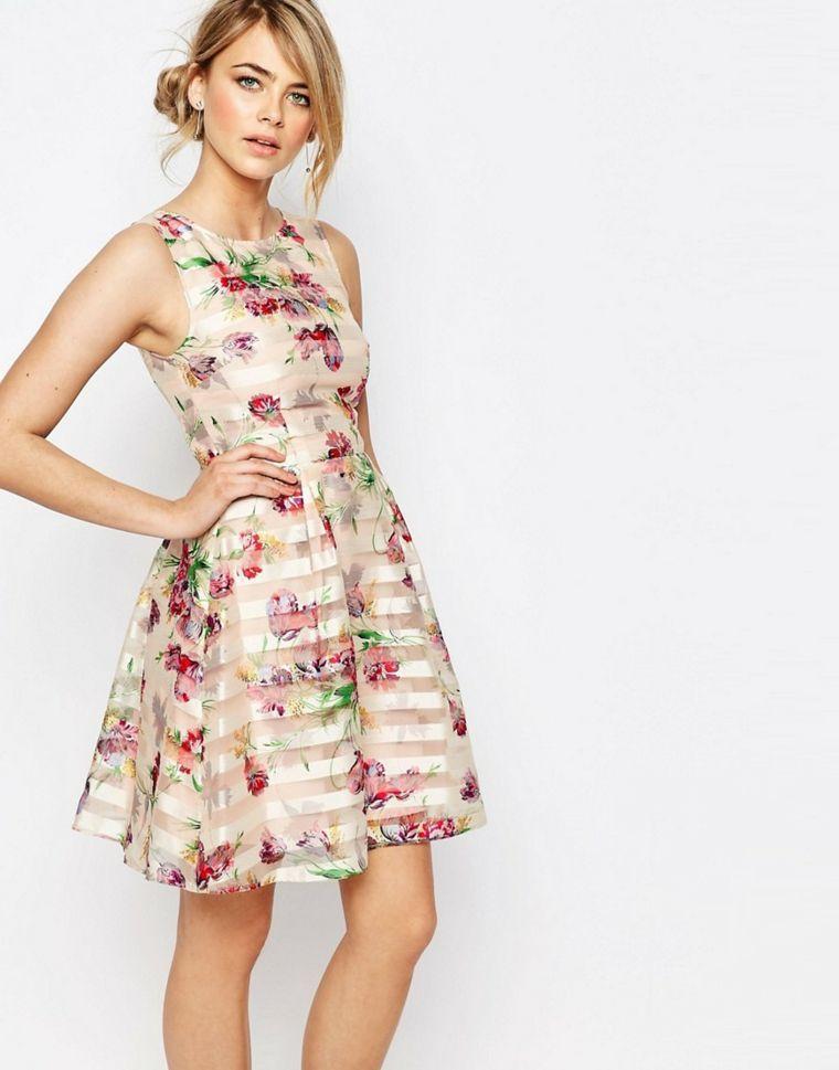 online retailer aa5d9 830c5 Vestiti per cerimonia donna con lunghezza sopra il ginocchio ...