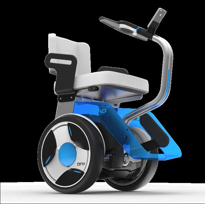 Gyropode Nino De Nino Robotics Un Fauteuil Roulant Electrique Dote De 2 Roues Fauteuil Roulant Electrique Fauteuil Roulant Scooter Electrique