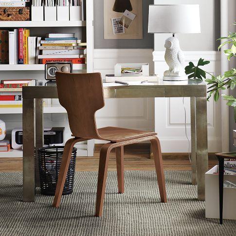 amusing living room west elm decorate shiny | Parsons Metal Desk | west elm {wish list} | living room ...