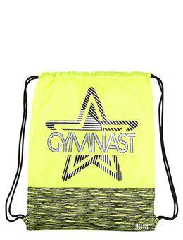 6863553e3acd Space Dye Gymnast Drawstring Tote
