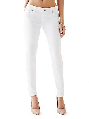 MID RISE CURVE X JEANS IN TRUE WHITE WASH GUESS Jeans  Jeans