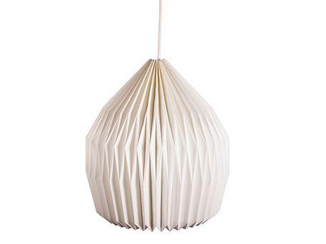 Lampe Design No 2 Papir Notre Dame Pendel Design Lamper