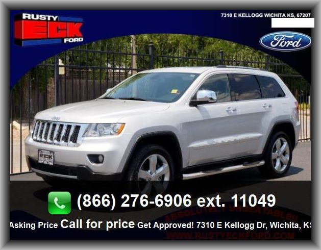 2012 Jeep Grand Cherokee Overland Suv Total Number Of Speakers 10