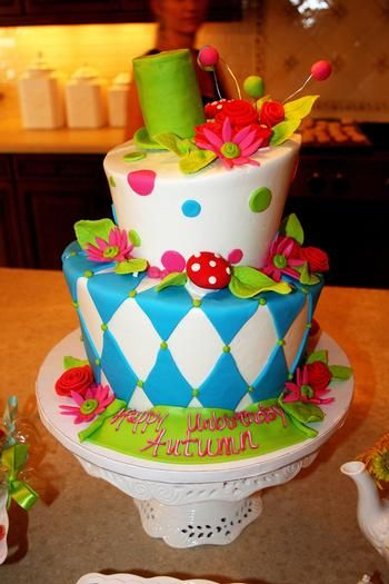 mad hatter the cake