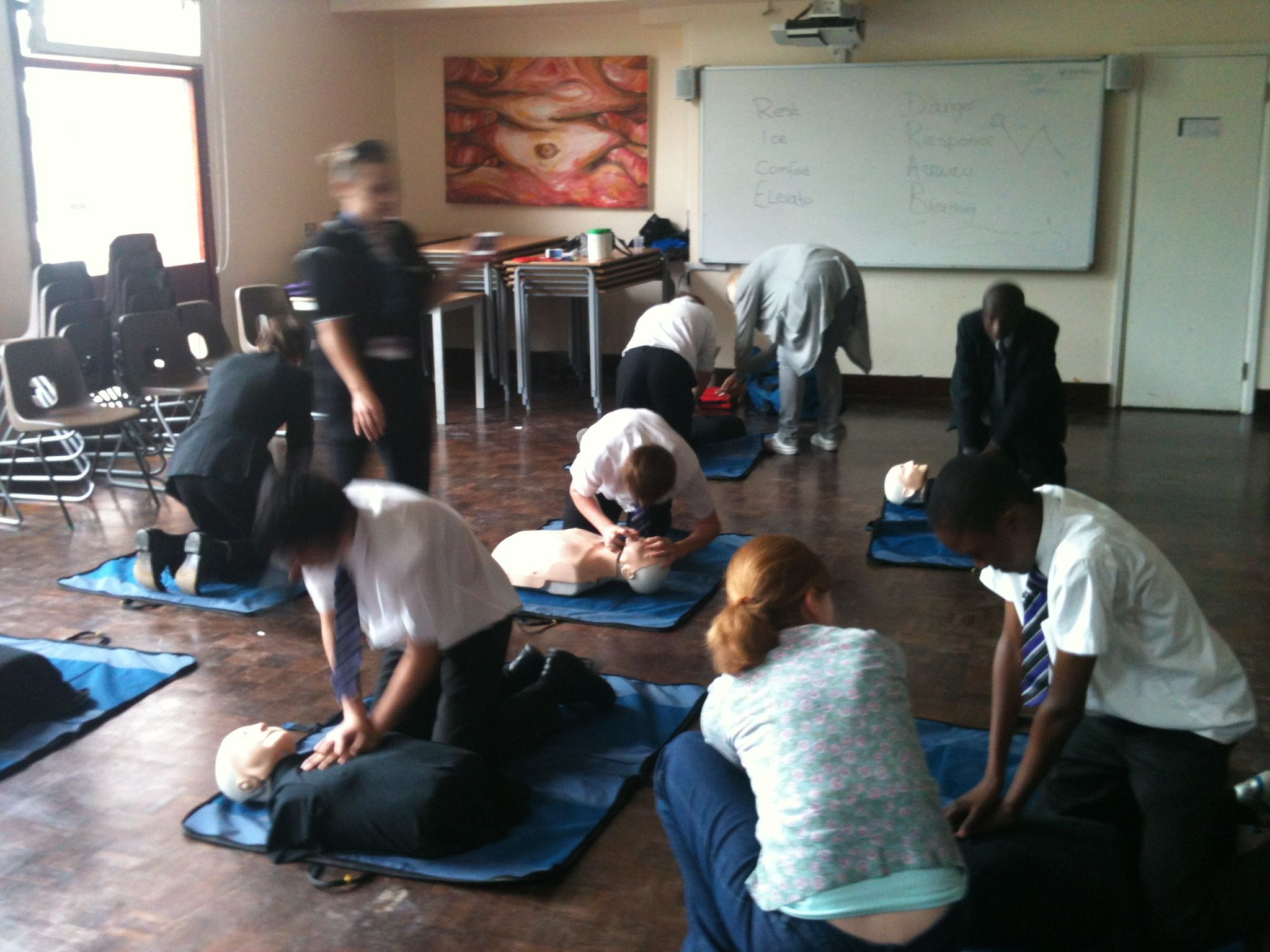 Classified best first aid training facilities in