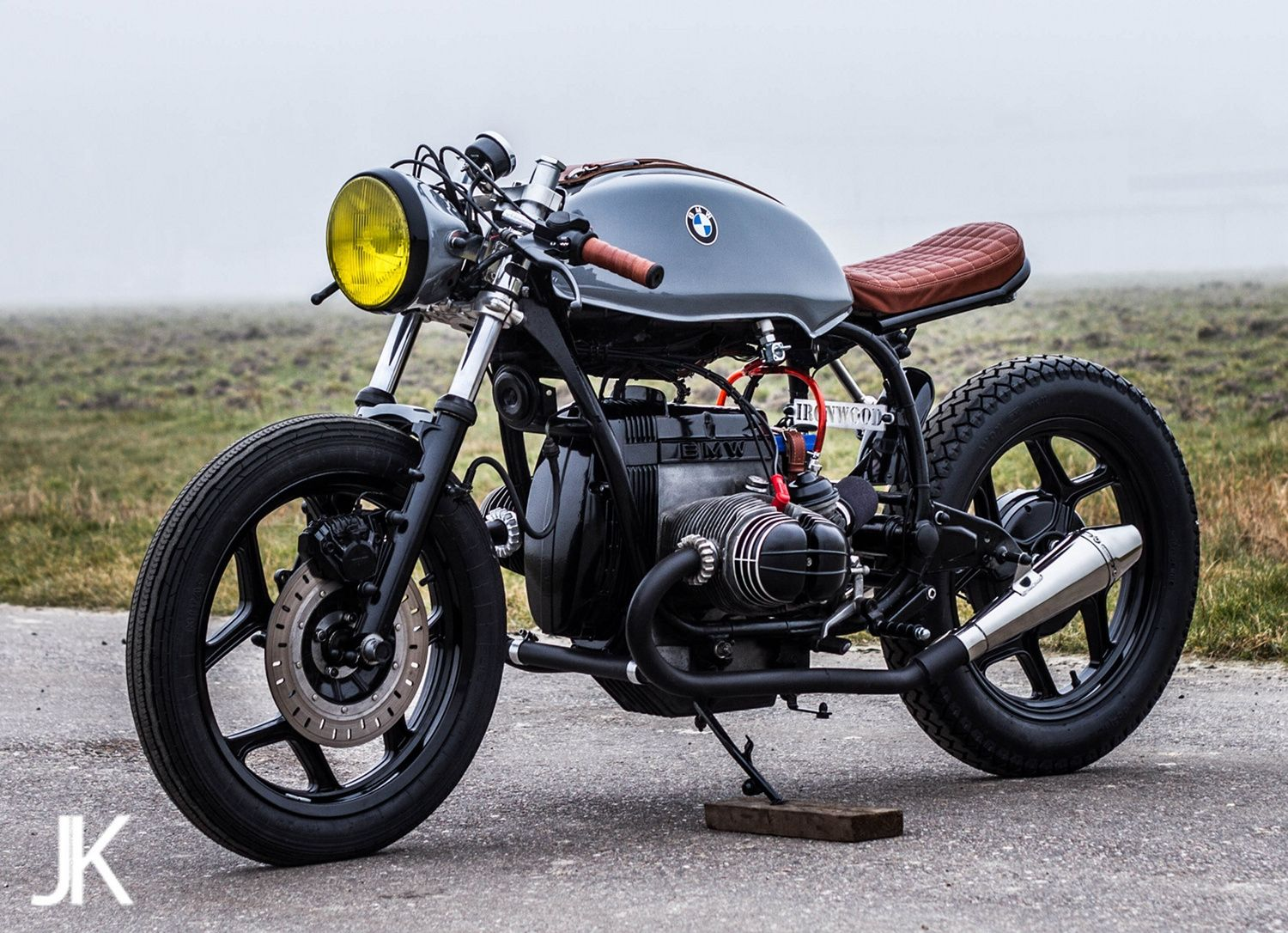 Exclusive Picture Of Bmw Vintage Scrambler Custom Bike Avec