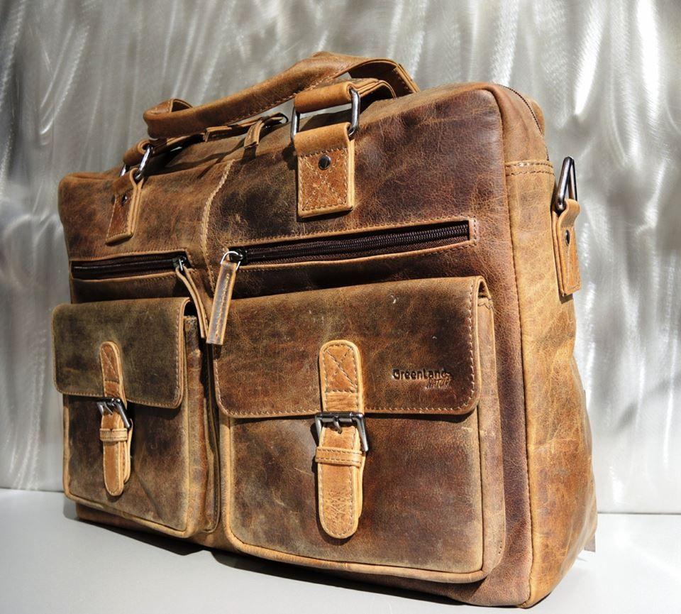 Büffel-Ledertasche für das Business! Ab sofort bei Kirsche's Taschen und mehr...! in Bad Vöslau www.kirsches.at