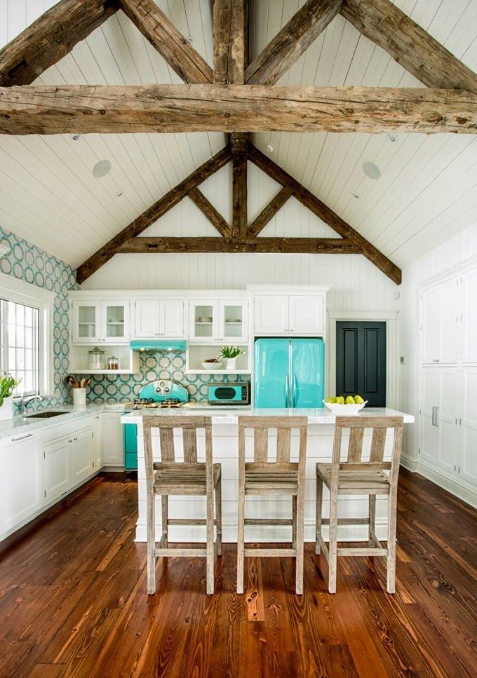 Turquoise Bathrooms Timeless And Captivating Interior: House Of Turquoise: Karr Bick Kitchen And Bath