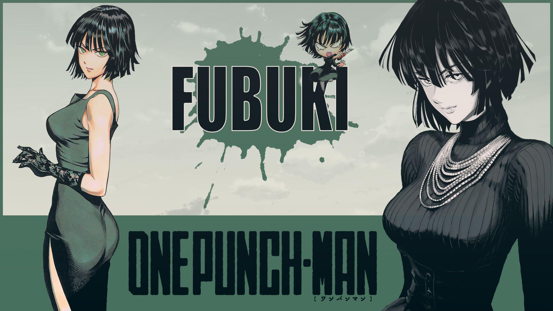Anime One Punch Man Fubuki Wallpaper