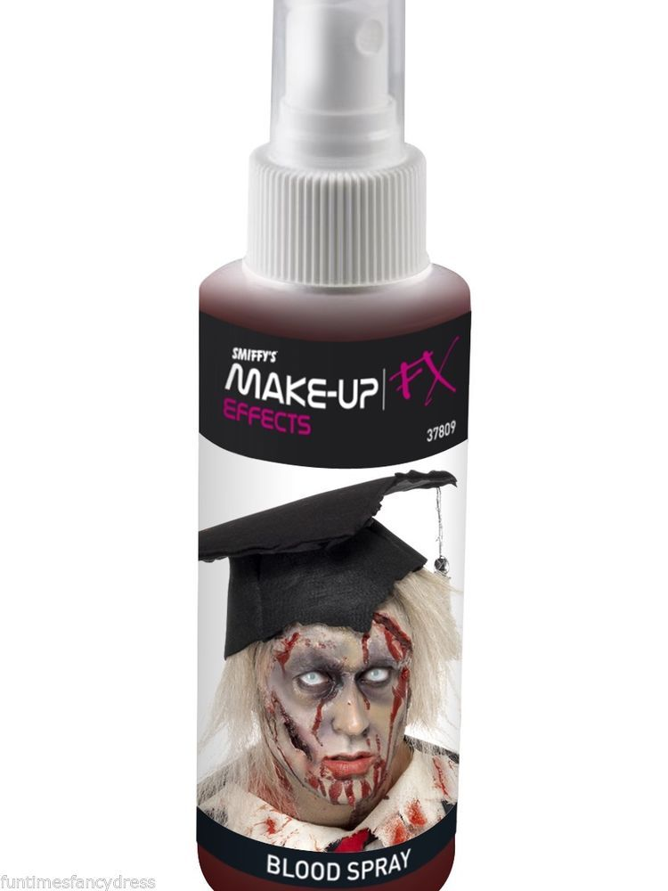 Halloween Gory Bloody Zombie Fake Spray Blood Pump Action Atomiser Fancy Dress