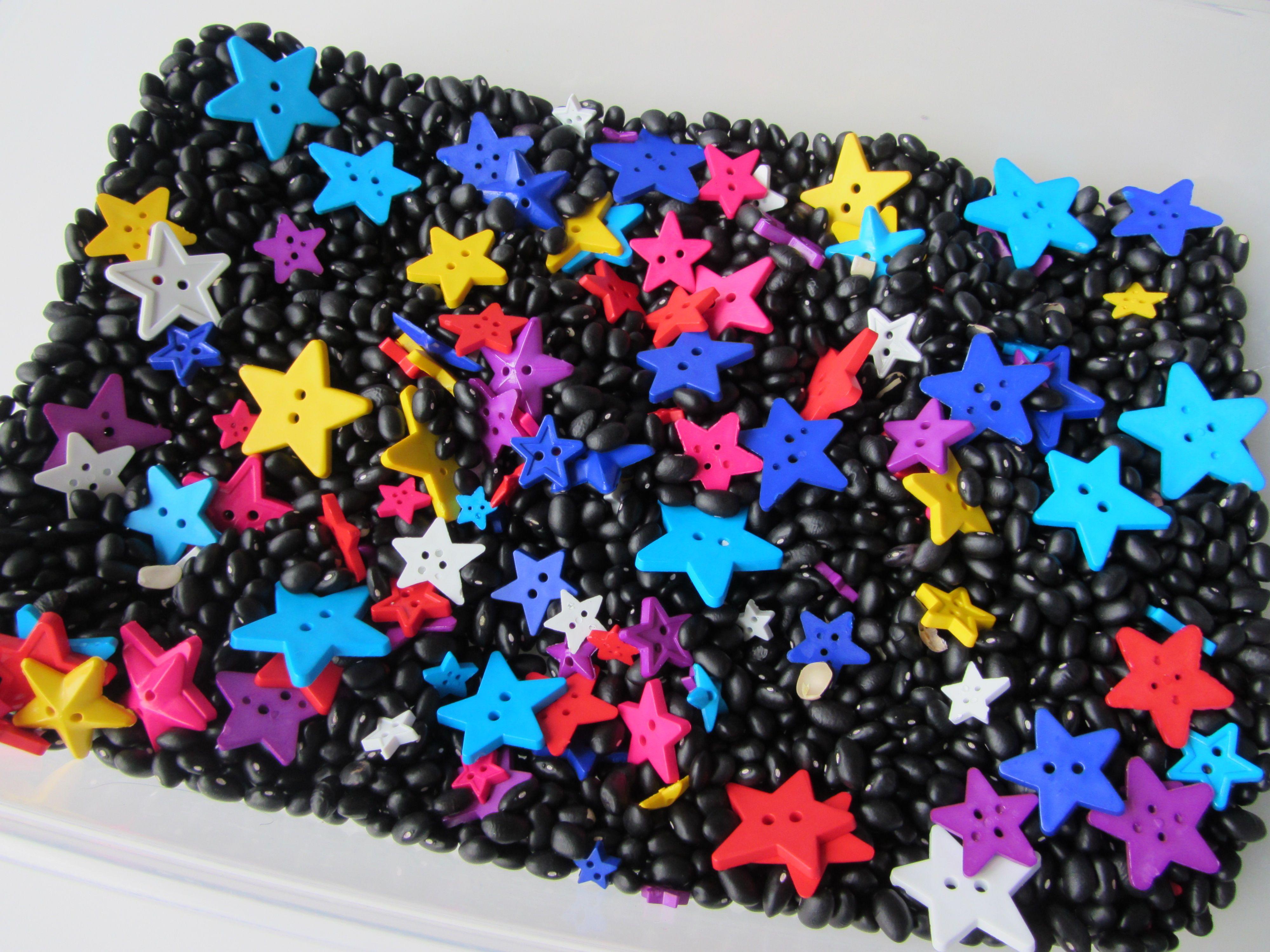 Star Sensory Tub Star Sensory Tub Add Dried Black Beans