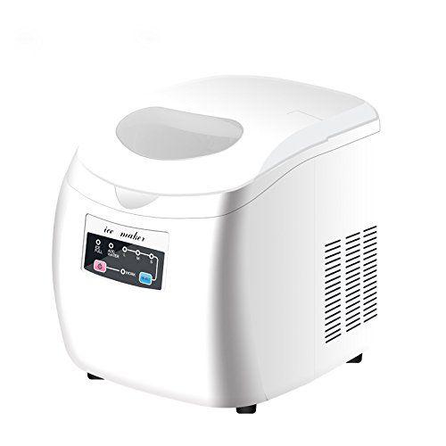 yutoa 2 8l 50 decibels led top ice maker machine portable compact rh pinterest com