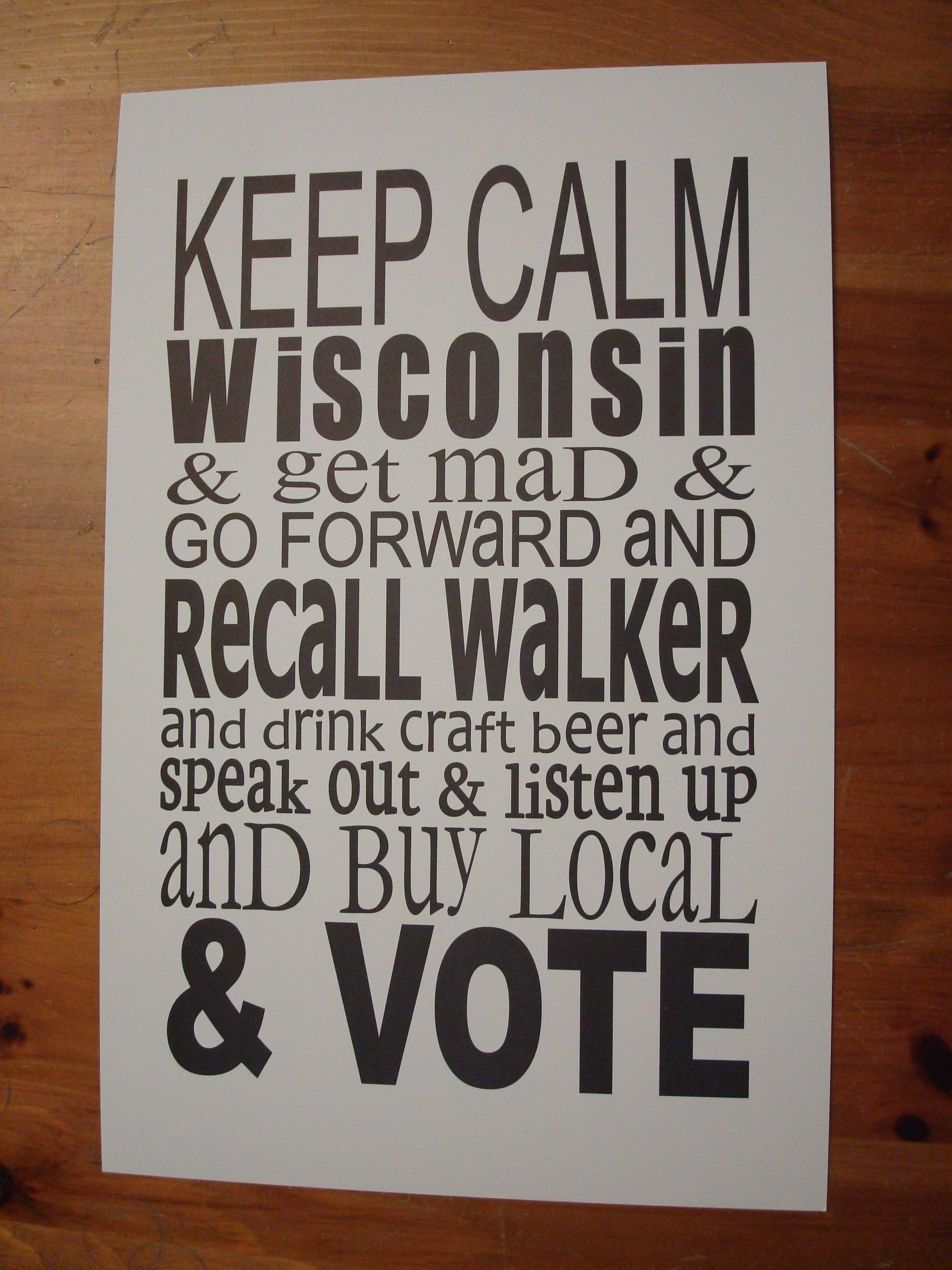 Cheers To Local Madison Wi Shop Anthology For This Perfect Poster