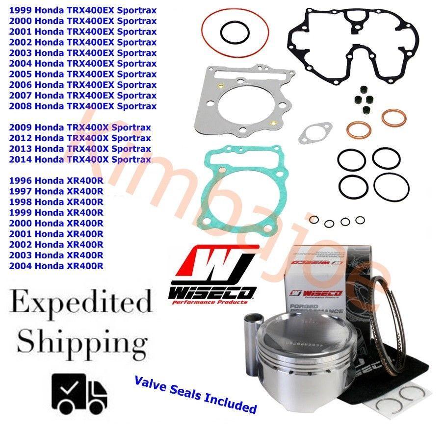 Wiseco Yamaha BLASTER YFS 200 66.25mm Piston Top End Kit 1988-2006