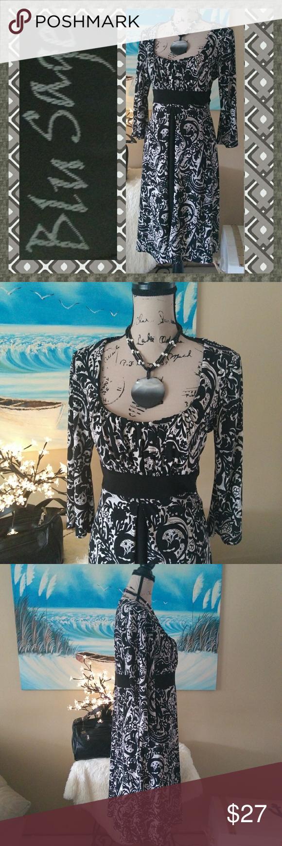 36edd899 I just added this listing on Poshmark: LIKE NEW Blu Sage Floral Silhouette  Dress.