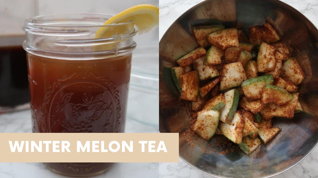 Winter Melon Tea Recipe {Paleo, Vegan}