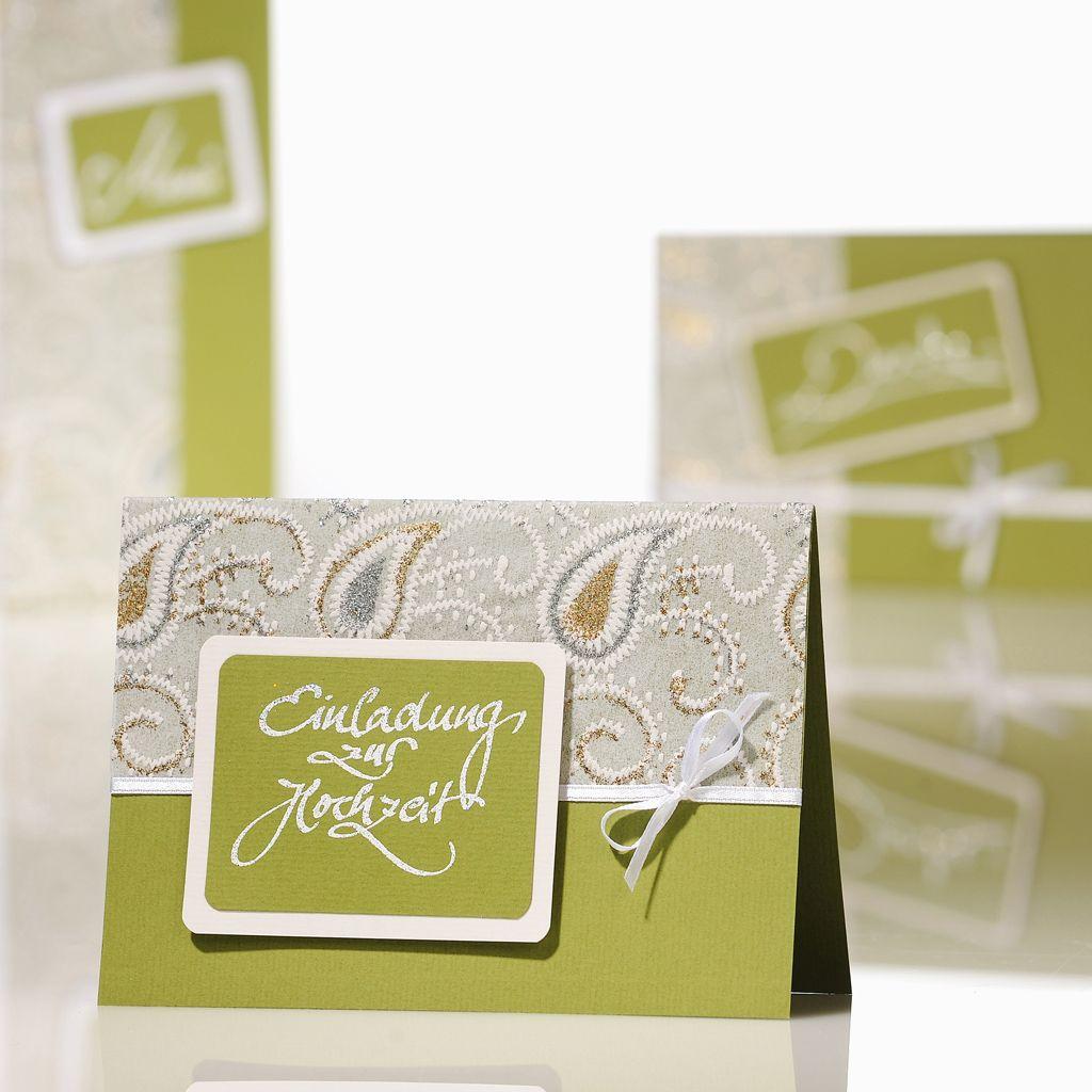Einladung Zur Hochzeit Mit Paisly Muster Hochzeitskarten Ideen Zum