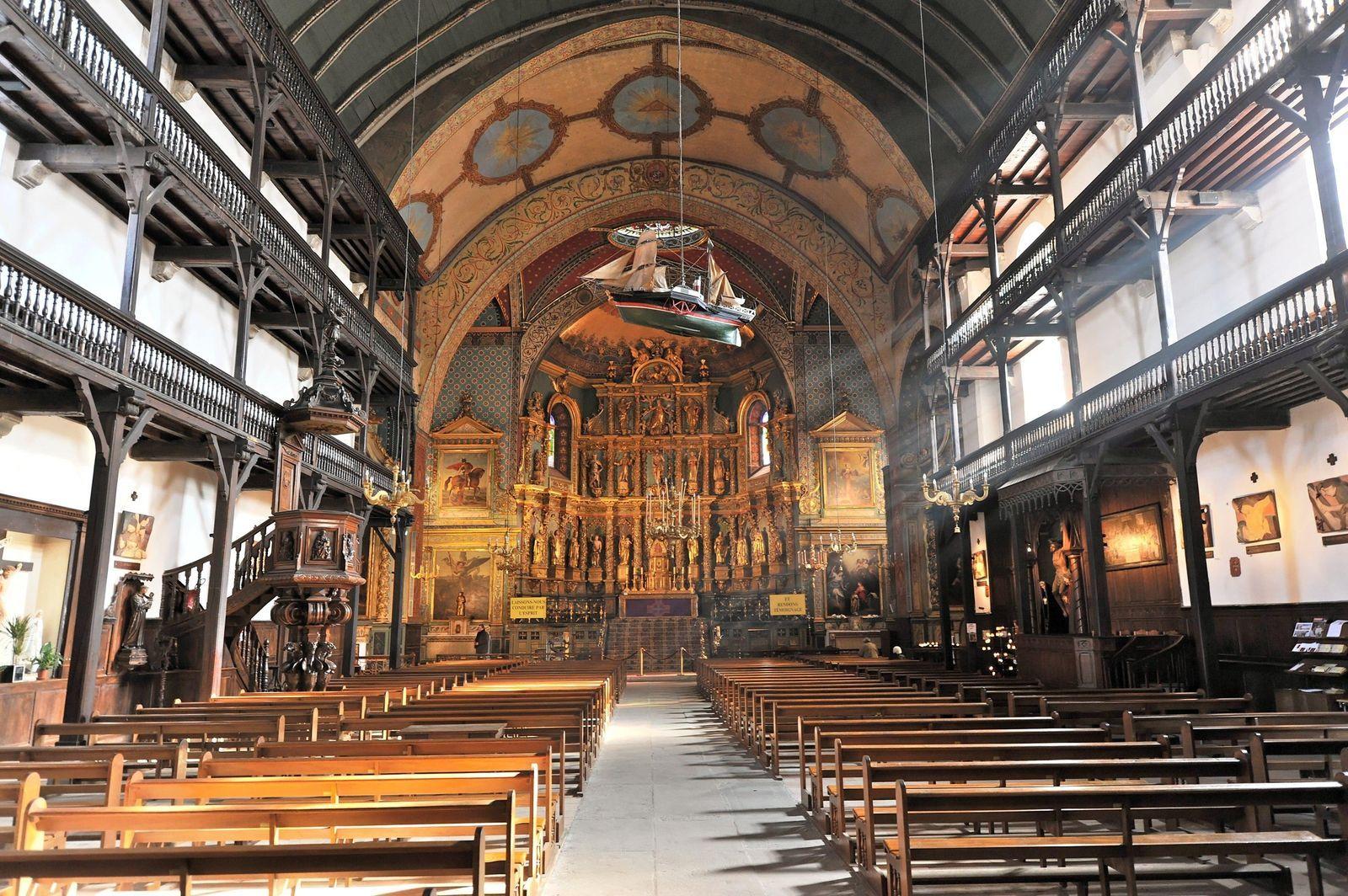 Eglise Saint Jean Baptiste A Saint Jean De Luz Saint Jean Pays Basque Saint Jean De Luz