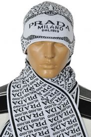163e1c7d3df PRADA Men s Hat Scarf Set