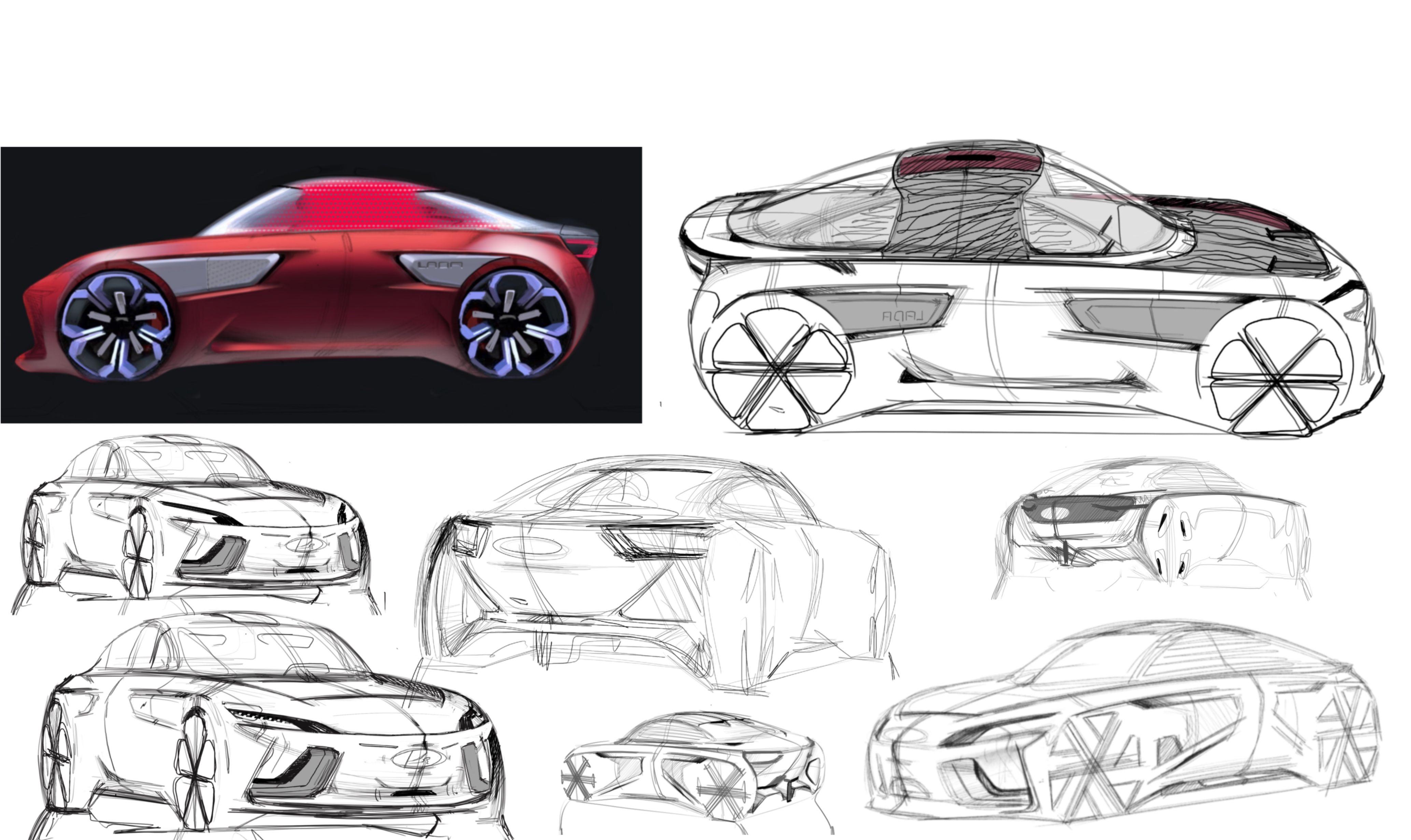 Kulikov Transportation design, Automotive design, Car design