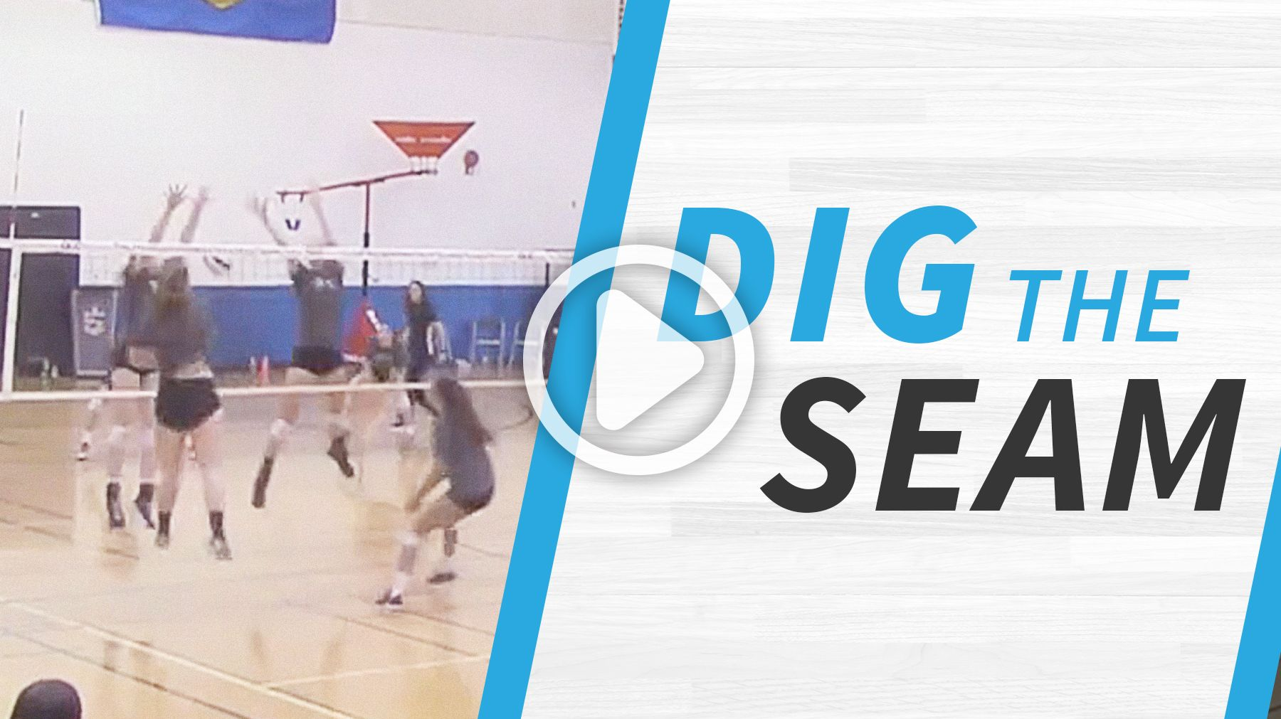 Attacking Vs Blocking Dig The Seam Drill With Images Coaching Volleyball Volleyball Drills Drill