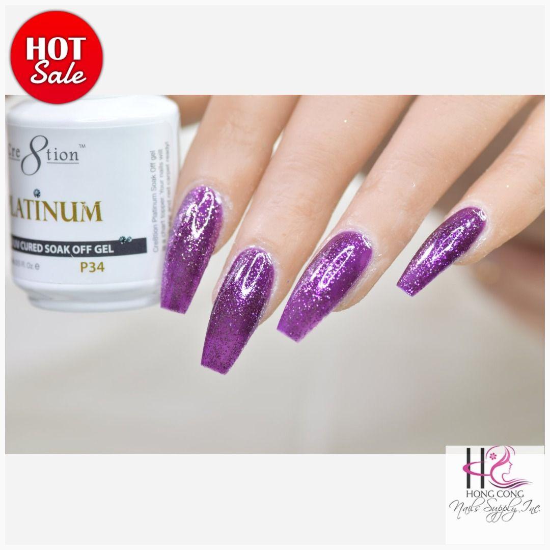 Cre8tion Platinum Collection P# 34  #nails #babynails #justnailspanamá #nailsoninstagram #thenailgoals #gelishdip #naildippingpowder #nailsdid #nailnail #nailsnailsnails