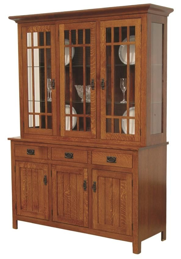 Amish Midway Mission Hutch