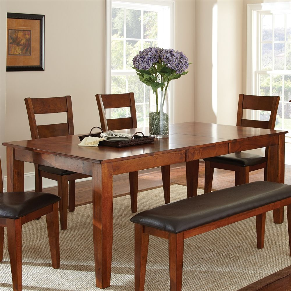 Steve Silver Company Go400tk Mango Dining Table At The Mine Browse Our Tables