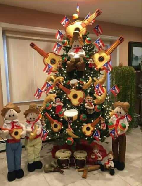 Árbol Borinqueño Mexican Christmas Decorations, Christmas Tree Decorations,  Christmas Wreaths, Christmas Ornaments, - Árbol Borinqueño Todo Puerto Rico! In 2019 Christmas, Christmas