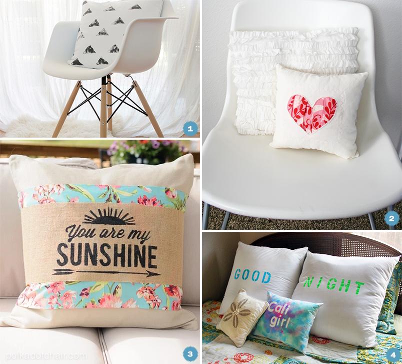 DIY: 10 almofadas criativas e divertidas para decorar a casa toda