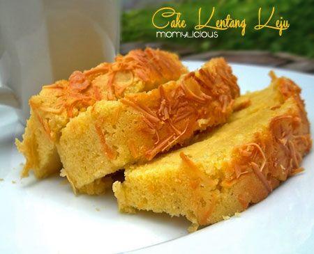 Cake Kentang Keju Makanan Resep Makanan Penutup Makanan Dan Minuman