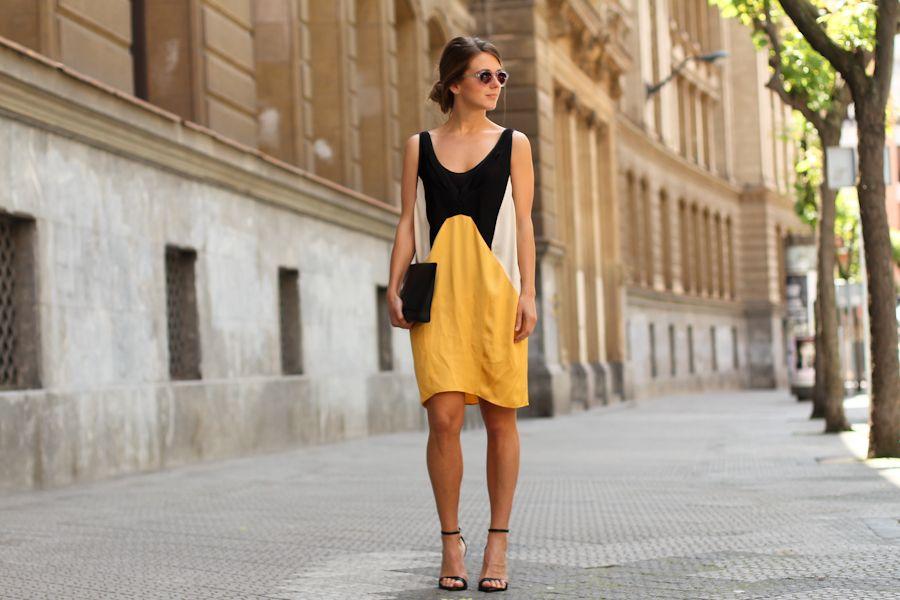 Dress: Zara Clutch: COS Sandals: Zara
