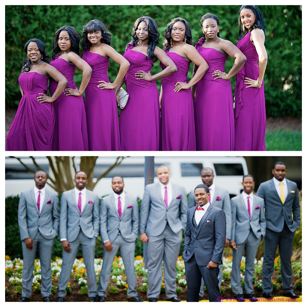 Nigerian wedding bridesmaids | My wedding | Pinterest | Boda y Sobres