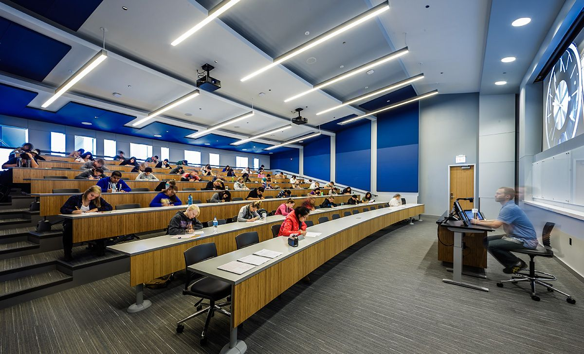 Good Schools For Interior Design Interior Mesmerizing Interior Design North Park University Interior Lecture Hall . Design Inspiration