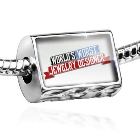 Bead Funny Worlds worst Jewelry Designer Charm Fits All European