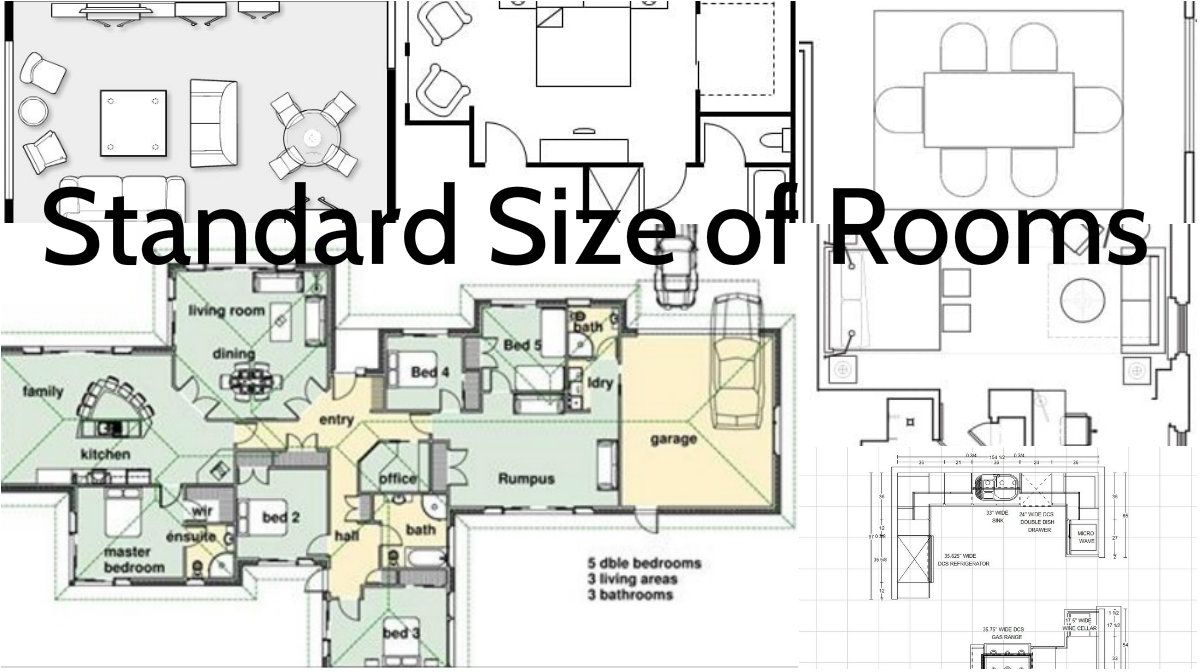 The Importance of Knowing the Standard Sizes of the Rooms ...