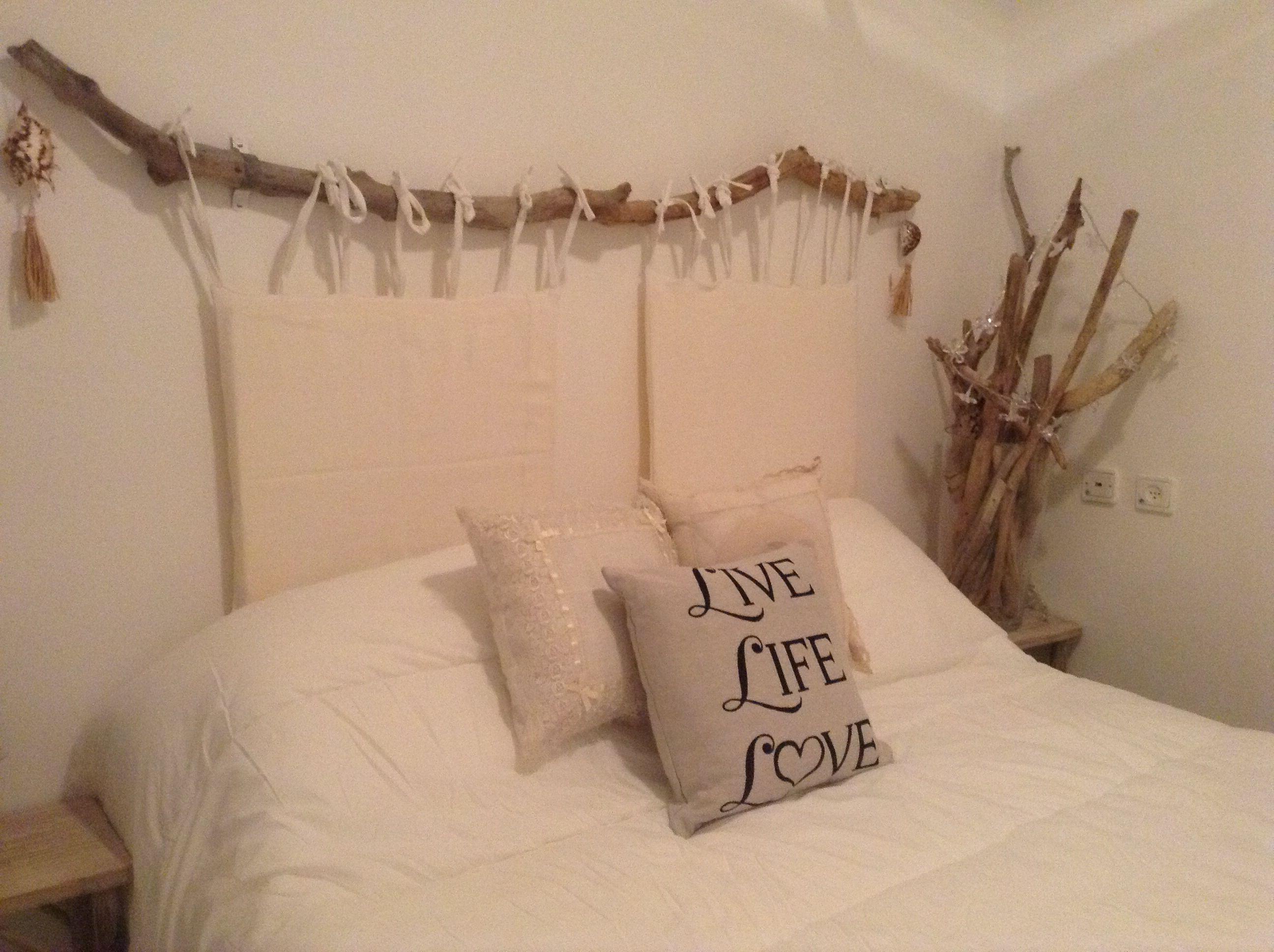 bois flotte deco tete de lit