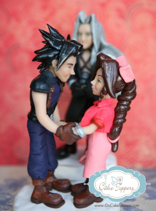 final fantasy wedding cake toppers cake topper by idocaketoppers 14247