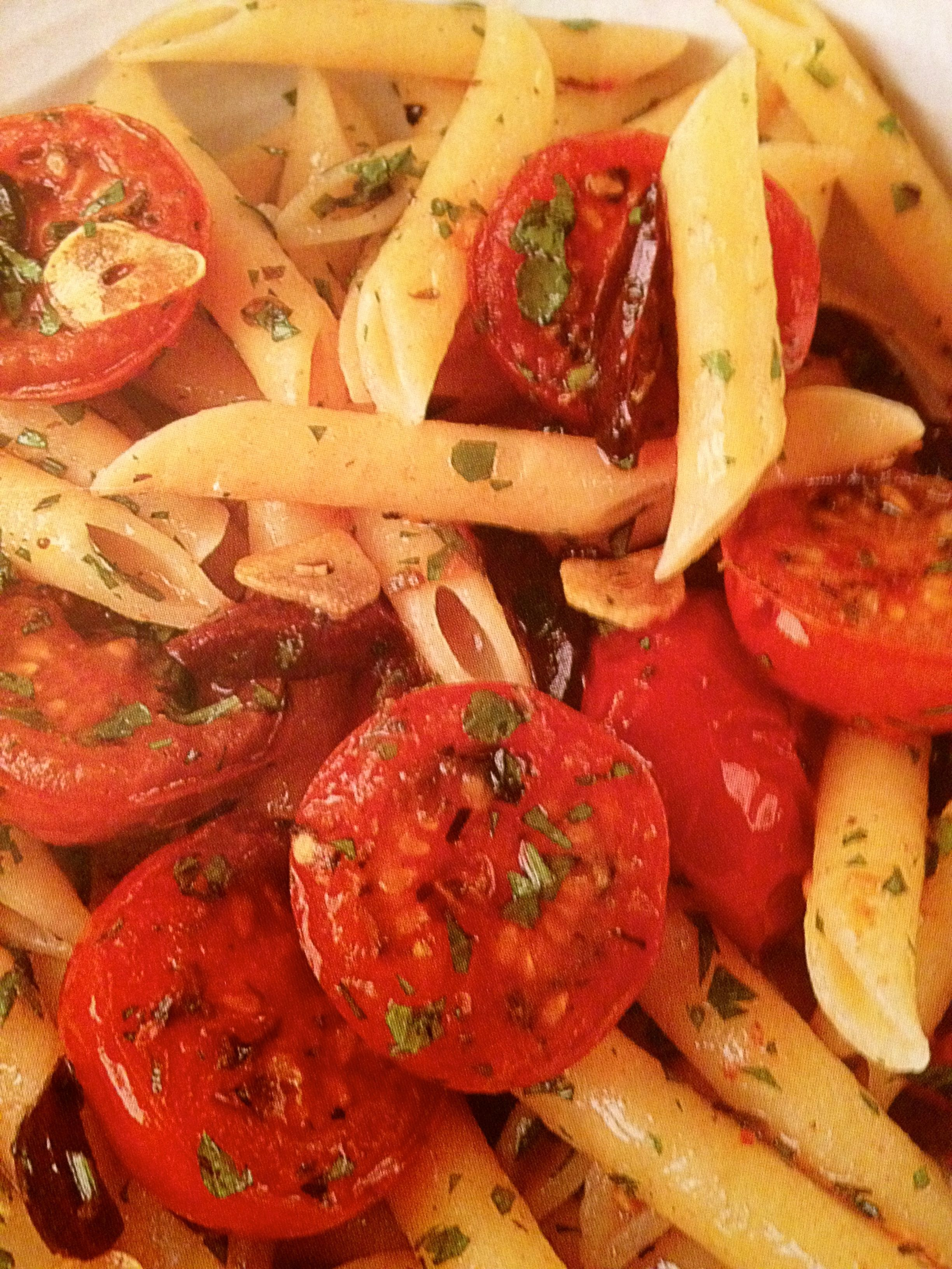 Tomato and Olive Penne dish voted favorite once again by family on ...