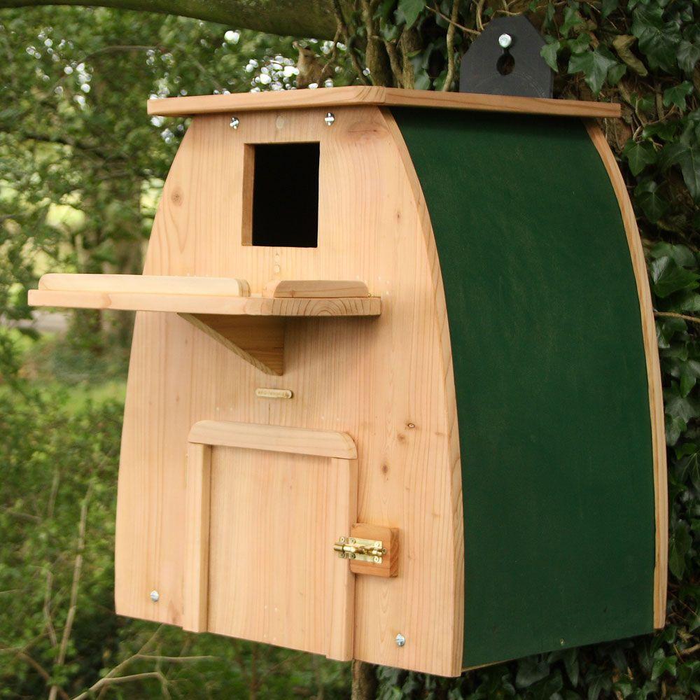 Barn owl nest box | Nesting boxes, Owl nesting, Owl nest box