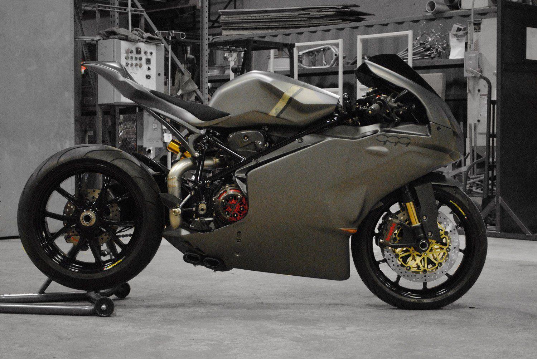 Custom Ducati 999 By Arete Americana Ducati Ducati Panigale Motorcycle