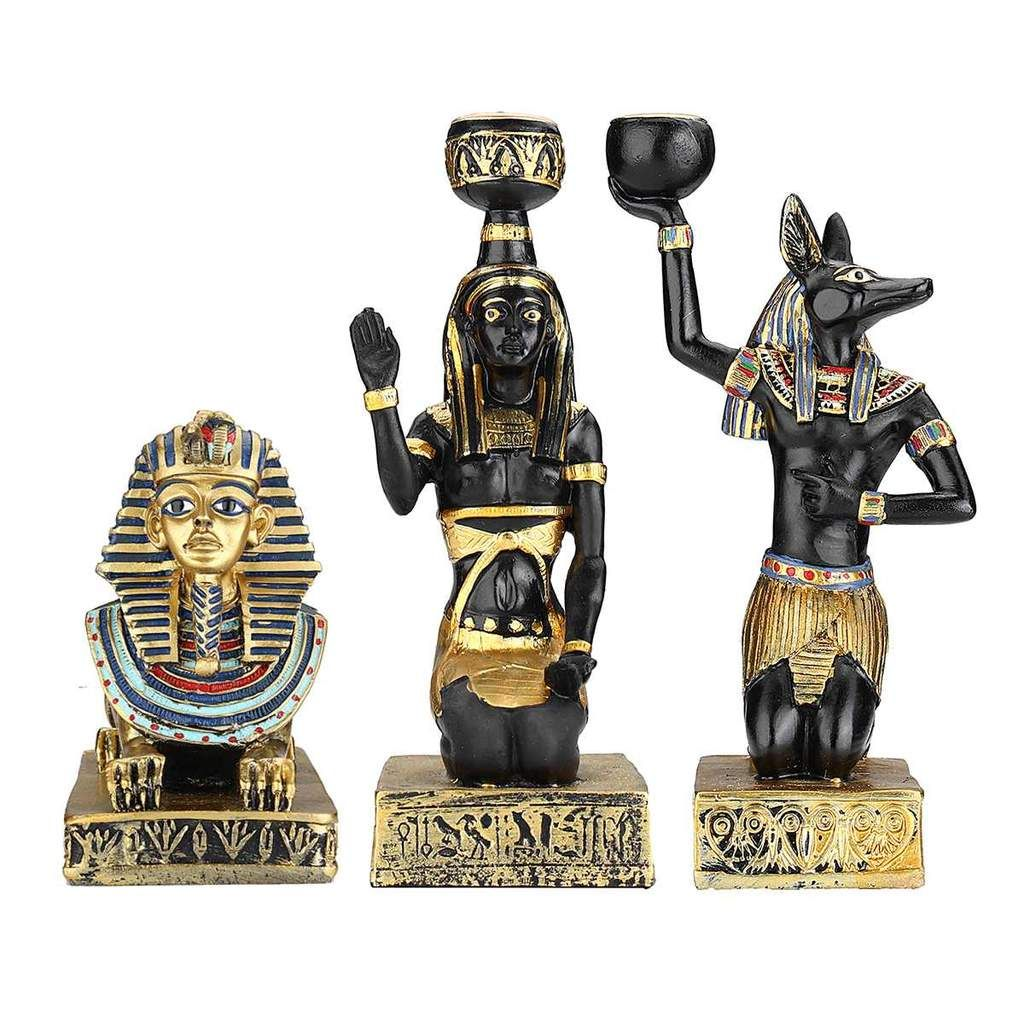 Ancient Egyptian Candle Holders In