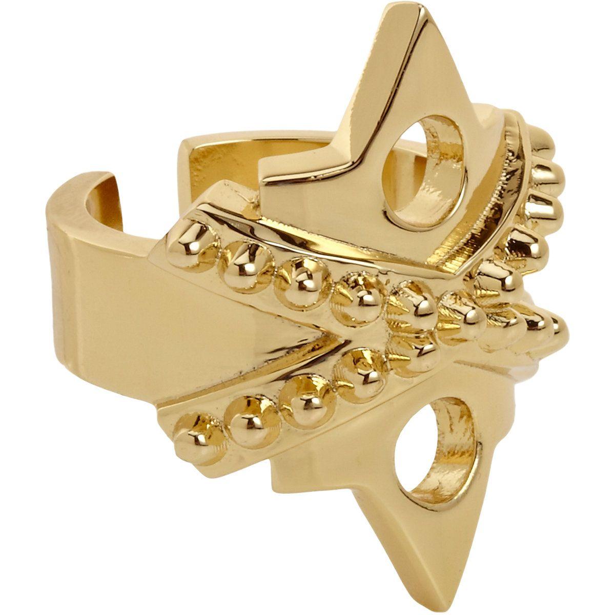 Jennifer Fisher Gold War Ring at Online shop