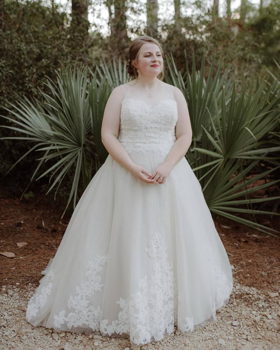 Real Bride Elizabeth + Cory Cape Fear Botanical Garden