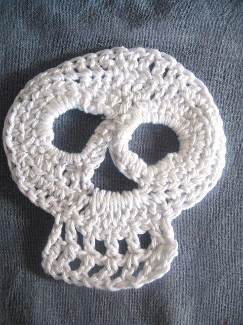 Halloween crochet piece.   Crochet: Halloween   Pinterest