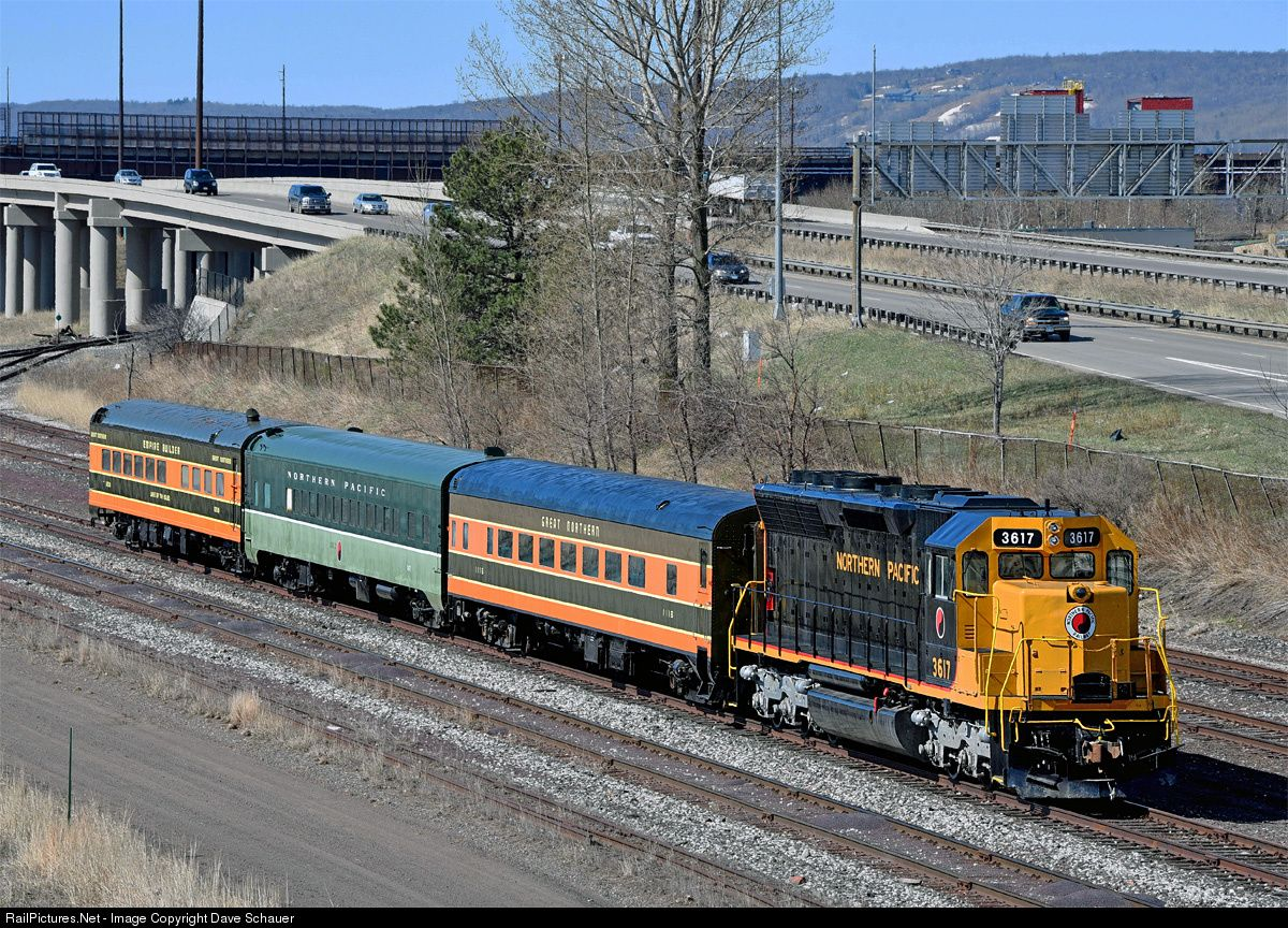 Railpictures net photo np 3617 northern pacific railway for Railpictures