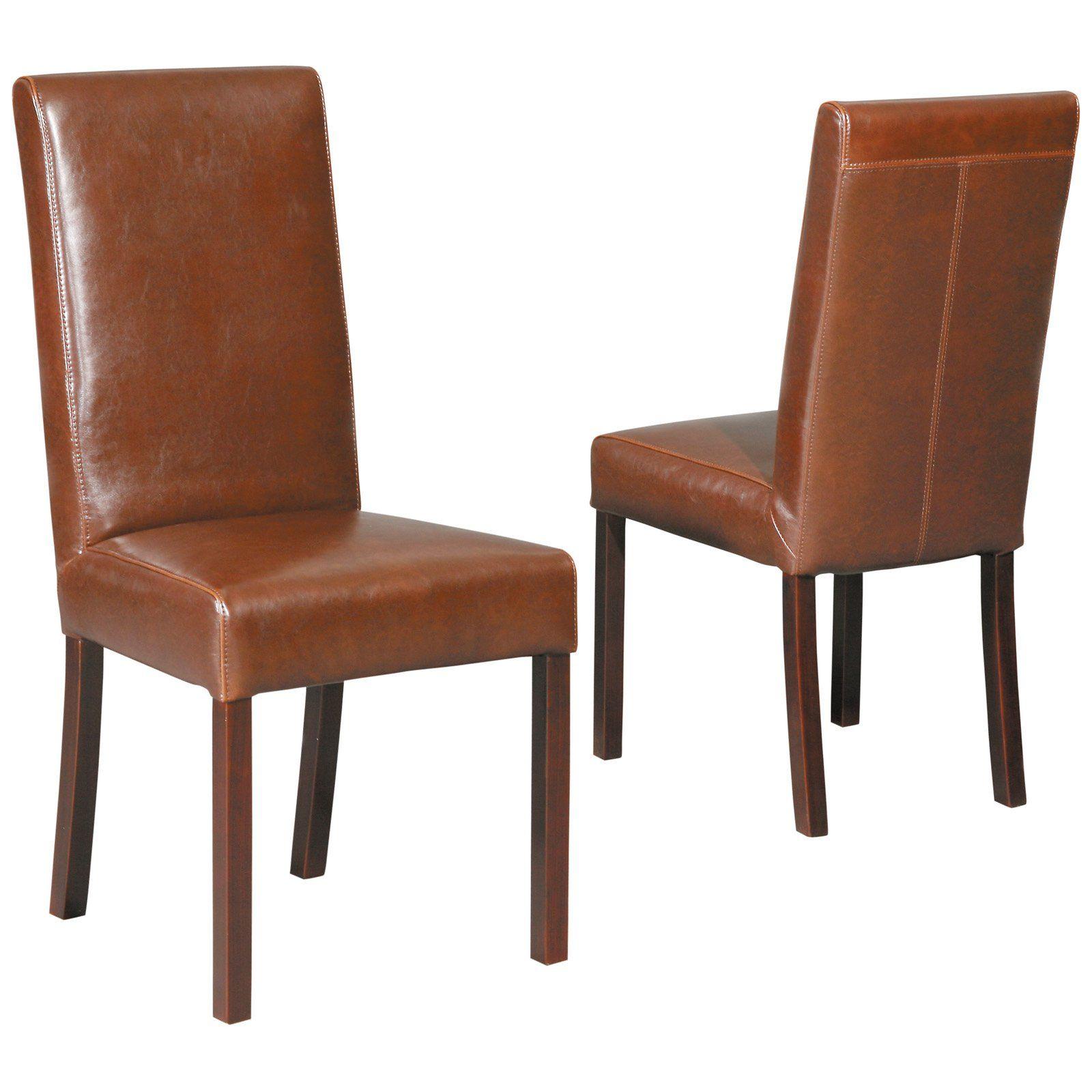 Leder Parsons Stühle Esszimmerstühle Esszimmerstühle Pinterest