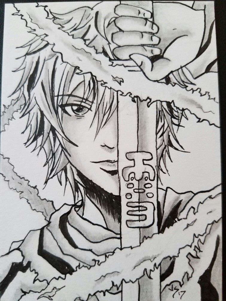 Trading card size piece, inspired by norigami